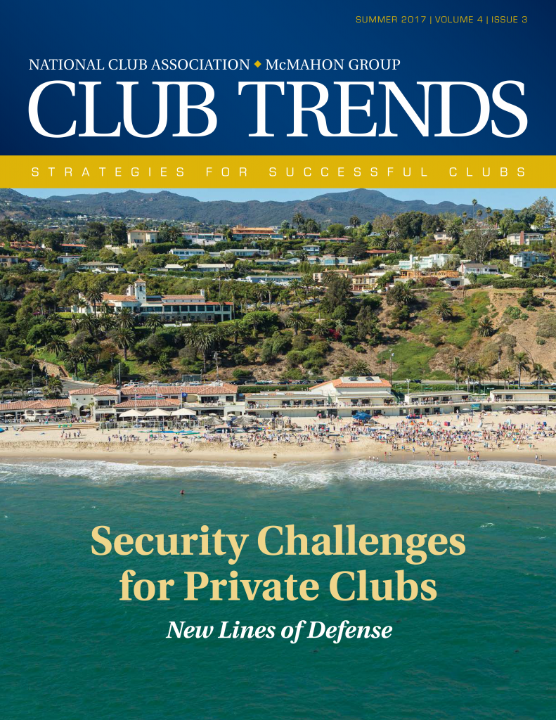 Club Trends - Security Issue