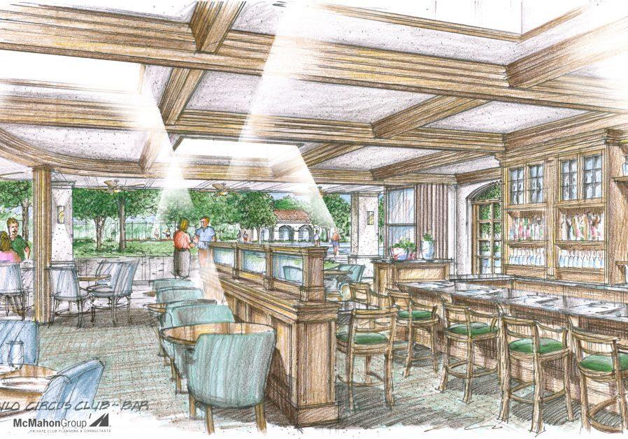 Menlo Circus Club Bar Interior